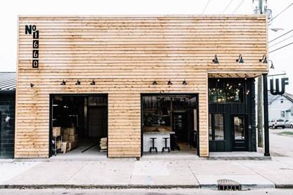West Fork Whiskey is at 1660 Bellefontaine St. in Indianapolis